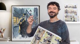 Acuarela y color para cómic e ilustración. Un curso de Ilustración de Sergio Bleda