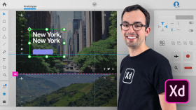 Introducción a Adobe XD. Un curso de Diseño Web y App de Ethan Parry