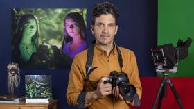 Retrato fotográfico noturno. Um curso de Fotografia e Vídeo de Alejandro Chaskielberg