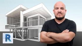Architektonisches 3D-Design und Modellierung mit Revit. A 3-D, Animation, Architektur und Raumgestaltung course by Arturo Bustíos Casanova