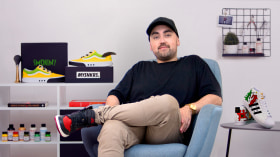 Sneaker Restoration and Customization. A Craft, and Fashion course by Juan Pablo Bello (MYSNKRS Customs)