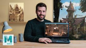 Creación de escenarios 3D desde cero en Maya. Un curso de 3D y Animación de Albert Valls Punsich