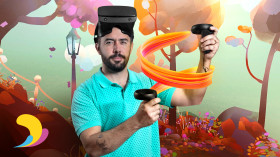 VR-Animation mit Quill. A 3-D und Animation course by Federico Moreno Breser
