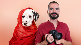 Introducción a la fotografía de perros. Un curso de Fotografía y Vídeo de Santos Román