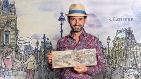 Urban Sketching: esprimi il tuo mondo con una nuova prospettiva. Un corso di Illustrazione di Lapin