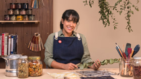 Impresión botánica en textil y papel. Un curso de Craft de Anabel Torres