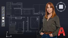 Einführung zu AutoCAD. A Architektur und Raumgestaltung course by Alicia Sanz