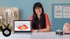 Creating a Website on Squarespace. A Technology, Marketing, and Business course by Mónica Durán · Visual Bloom
