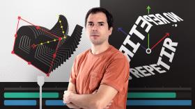 Fortgeschrittene Animation für typografische Kompositionen. A 3-D, Animation, Kalligrafie und Typografie course by Holke 79