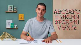 Creación de tu propia tipografía. Un curso de Caligrafía y Tipografía de Wete