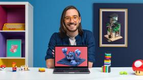 Introduzione al voxel art per il character design. Un corso di 3D , e Animazione di Zach Soares