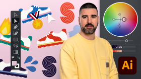 Adobe Illustrator for Visual Identity . A Design course by Guillermo Molina Fernández