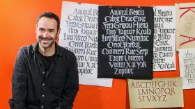 Caligrafía con góticas potentes. Un curso de Caligrafía y Tipografía de Oriol Miró Genovart