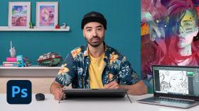 Técnicas pictóricas para pintura digital. Un curso de Ilustración de Javier González Pacheco