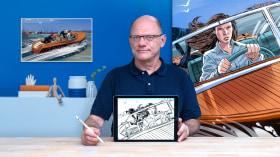 Illustrazione di storyboard con Procreate. Un corso di Illustrazione di Davis Lisboa