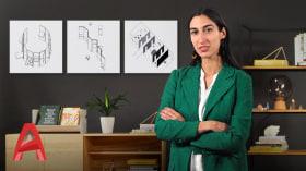 Einführung in das Architekturzeichnen in AutoCAD. A Design, Architektur und Raumgestaltung course by Isabel Martínez