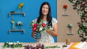 Técnicas para la creación de flores de papel. Un curso de Craft de Eileen Ng