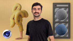 Arte abstracto en 3D. Un curso de Ilustración, 3D y Animación de Ali Sahba