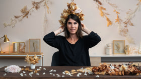 Floral Headpiece: Using Flowers to Create Accessories. A Craft course by Violeta Gladstone