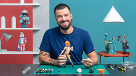 Design and Creation of an Art Toy: From Person to Character. A Craft course by Luaiso Lopez