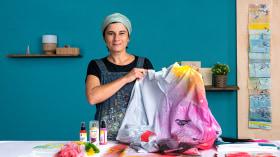 Técnicas de impresión textil para principiantes. Un curso de Craft de Julia Pelletier
