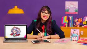 Creación de una marca ilustrada: de la idea al merchandising. Un curso de Ilustración, Marketing y Negocios de Vania Bachur
