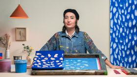 Serigrafía textil: diseña y estampa tus patrones. Un curso de Ilustración y Craft de Ana Escalera Moura