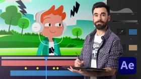 Adobe After Effects para animación de personajes. Un curso de 3D y Animación de Facundo López