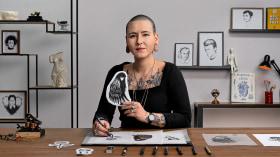 Diseño de tatuajes Blackwork. Un curso de Ilustración de Sophie Mo