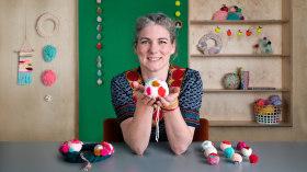 Pom-Pom Design and Creation. A Craft course by Christine Leech