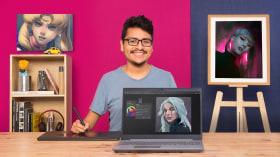 Principios de pintura digital para retratos. Un curso de Ilustración de Rodrigo Rivas (Ruiveran)