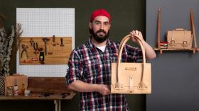 Creación de bolsos de cuero artesanales para principiantes. Un curso de Moda de Gustavo Annoni - Annoni Bags