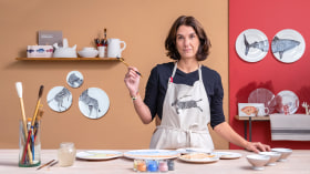 Hand-Painted Ceramics. A Craft course by Nuria Blanco