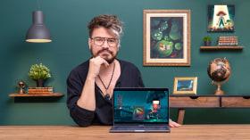 Pintura digital para ilustración 2D. Un curso de Ilustración de Matt Sanz