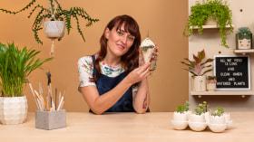 Création de pots en céramique avec de la personnalité. Un cours de Craft de La Pomona