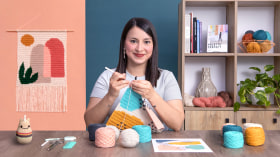 Intarsia Crochet: Craft Your Own Tapestry. A Craft course by Flor Samoilenco