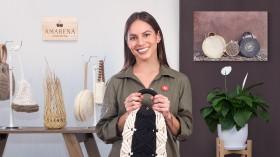 Diseño y elaboración de bolsos en macramé. Un curso de Craft de AMARENA