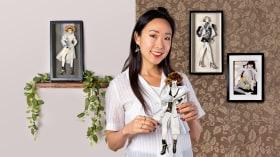 Tecniche creative per l'illustrazione di moda. Un corso di Illustrazione di Connie Lim