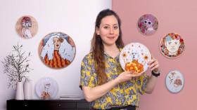 Realistic Portrait Embroidery. A Craft course by Yamila Yjilioff