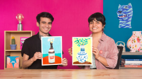 Creative Drawing with Oil Pastels. A Illustration course by Fortuna Studio