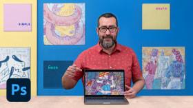 Caderno de desenho digital: desperte sua criatividade. Um curso de Ilustração de Del Hambre