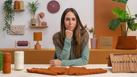 Top-down: prendas a crochet de una sola pieza. Un curso de Craft de Estefa González