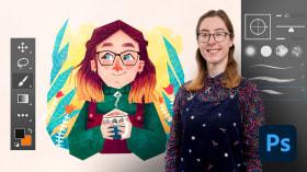 Introdução ao Photoshop para ilustradores. Um curso de Ilustração de Gemma Gould