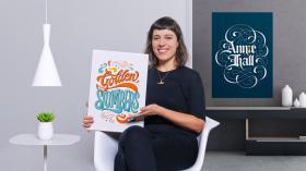 Introdução ao lettering autoral. Um curso de Caligrafia e Tipografia de Cyla Costa