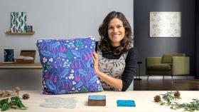 Block printing y diseño digital de estampados. Un curso de Ilustración y Craft de Marta Afonso