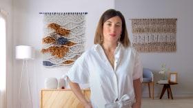 Einführung zu Makramee: Kreation eines dekorativen Wandteppichs. A Handarbeit course by Belen Senra