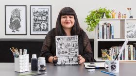 Creación de novelas gráficas autobiográficas. Un curso de Ilustración de Marcela Trujillo Espinoza