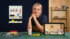 Design and Build Miniature Interiors. A Craft course by Jessica Dance