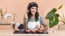 Design de acessórios para o cabelo. Um curso de Craft de Fernanda Guimarães