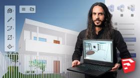 3-D-Modellierung mit SketchUp für Anfänger. A 3-D, Animation, Architektur und Raumgestaltung course by Guilherme Coblinski Tavares